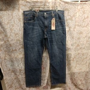 Levi's Blue Relaxed Straight Fit Jeans NWT